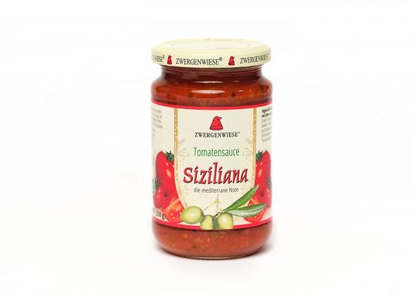 Zwergenwiese Tomatensauce Siziliana