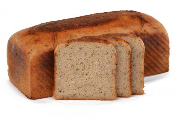 Zwiebel-Bärlauch-Brot - glutenfrei