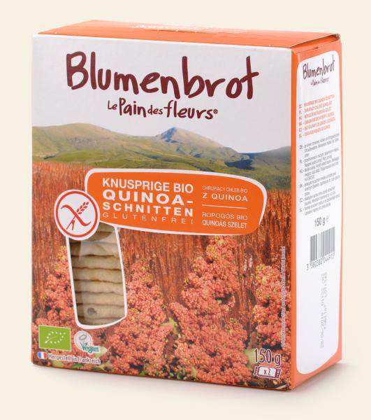 Blumenbrot Quinoa-Reis