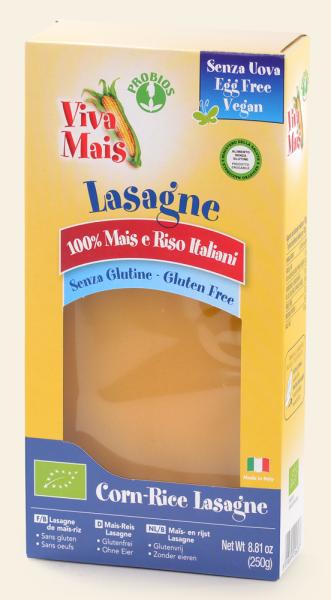 Probios Mais-Reis Lasagne Bio