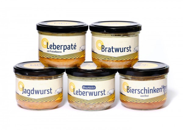 Schnupperpaket Wurst
