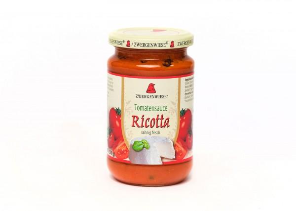 Zwergenwiese Tomatensauce Ricotta